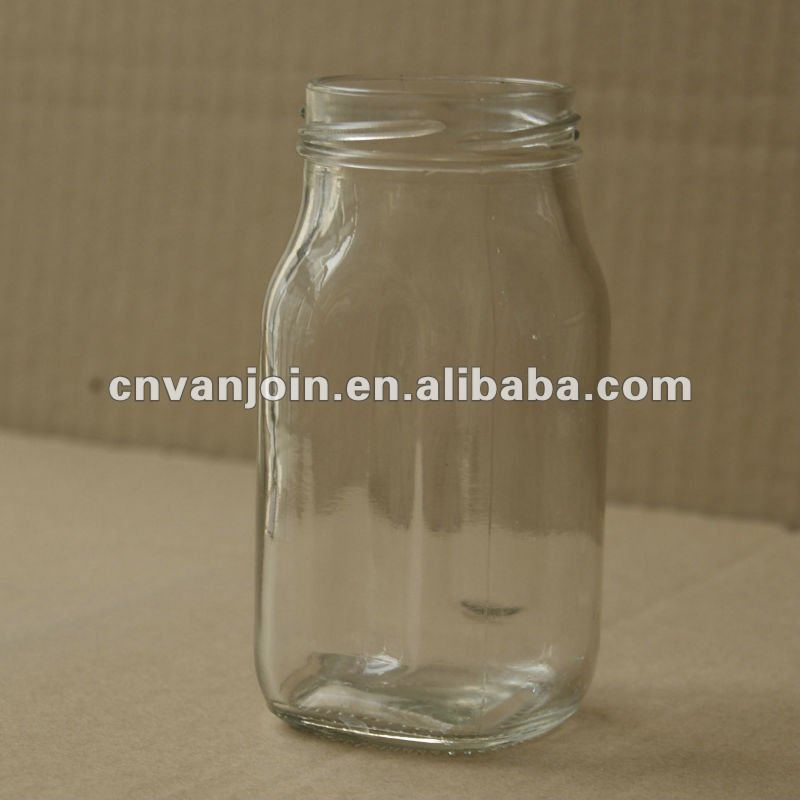 200ML Glass Jar for Condiment or Jam or Salsa