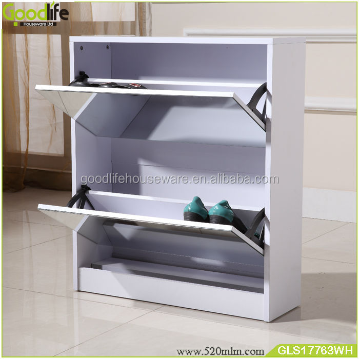 OEM/ODM Wall useful space saving furniture models shoe racks wood