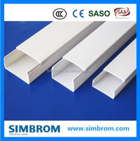 Wholesale alibaba express colored flexible conduit, pvc square trunking, color pvc trunking