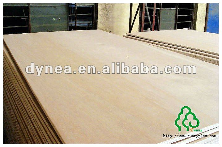 WOOD Timber material all poplar core / hardwood core 1220*2440*12mm