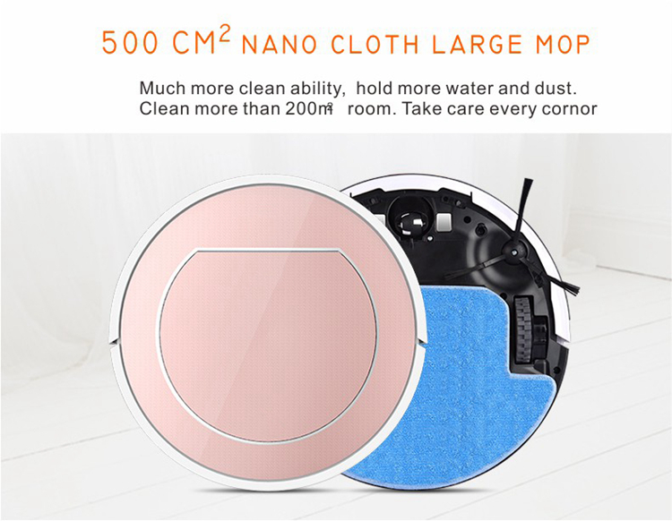 Mass supply factory price Large Water Tank hottest robot fasional vacuum cleaners rechargeablevacuum cleaner