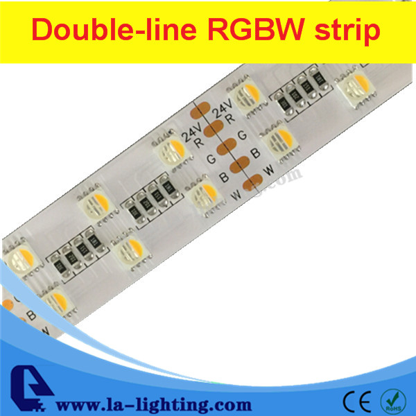 2016 Double row 4 colors in 1 5050 strip led RGBW led strip light