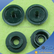 hot sale high quality colored plain plastic snap fasteners/buttons