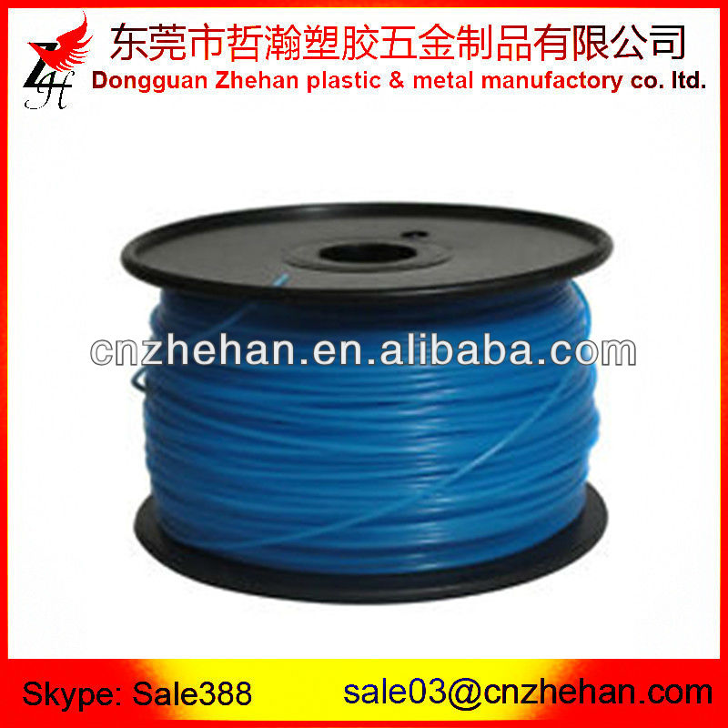 1.75mm pla filament for Makerbot replicator 2x,mk8 extruder filaments