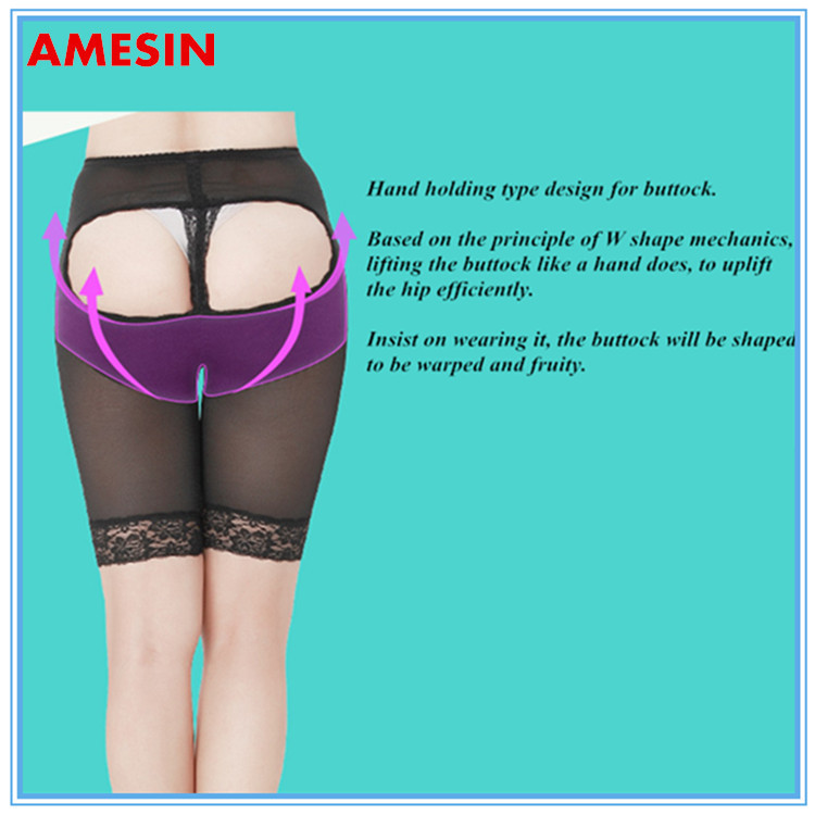 Wholesale Naked Buttock Lifting Shaper Hip Butt Up Supports Pant