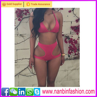 fashion rose red high waist swimwear china xxx sexy girl bikini