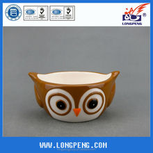 Small Ceramic Easter Owl Bowl