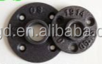 Factory Price 1/2 malleable iron floor flange for table legs