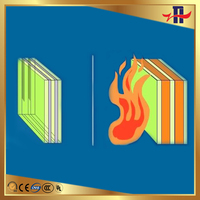 Fireproof Glass for Fireplaces, Ceramic Fireplace Glass