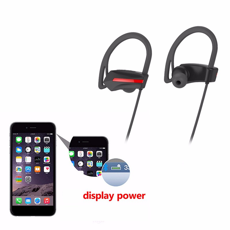 For sport use hot items stereo wireless waterproof headphones bluetooth 2017