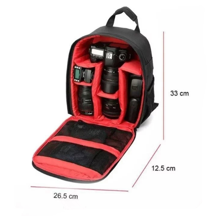 Wholesale Backpack Waterproof DSLR Cases Free Inspection Camera Bag