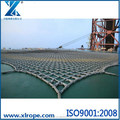 Helicopter Landing Deck Net hemp fiber rope for long service