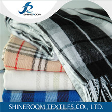 ECO Friendly High End Super Soft Plaid Pattern 100% Bamboo Throw Blanket