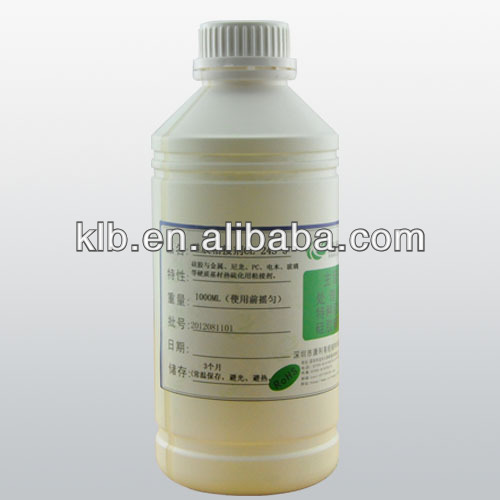 heat cured treating agent chemical/industry/medical adhesive