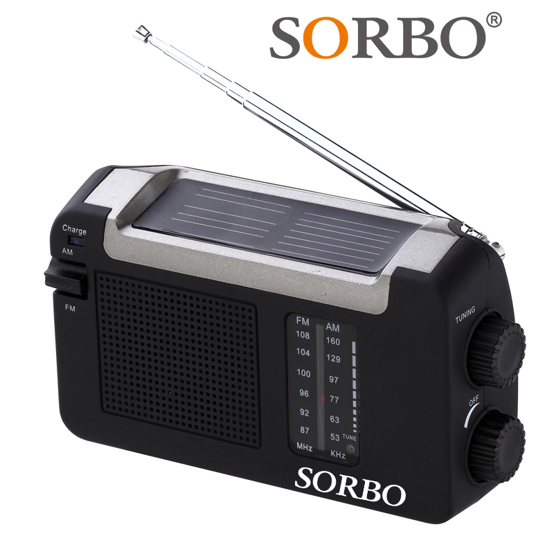 Portable Min USB Rechargeable Dual Band FM/AM Radio