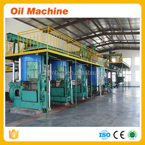 Latin America lever 1 edible vegetable oil 260TPD corn oil extorting machine corn extraction milling of corn production world
