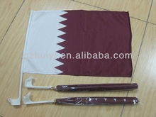 Qatar Car Flag for Window National Flags