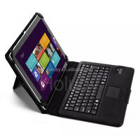 Shenzhen Detachable Magnetic Flip Stand folded Bluetooth 3.0 ABS Sleek Keyboard Case for Microsoft Surface 3