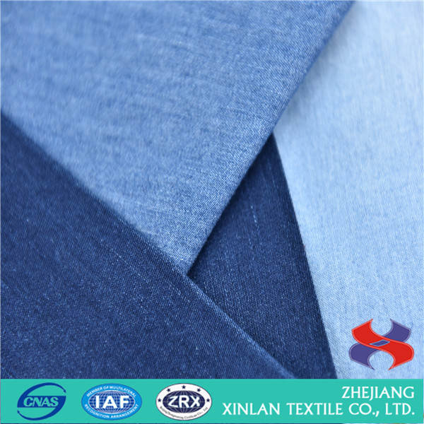 100 cotton quality jeans denim twill fabric wholesale direct factory for shirts
