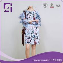 2018 spring street style long sleeve dear lover dress for Euro-market