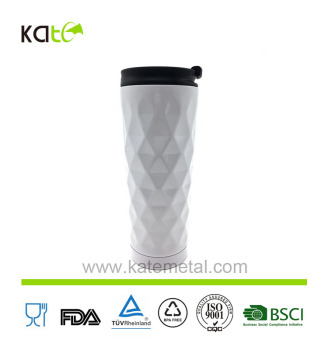 Insulated Stainless Steel Vacuum Flask Travel Coffee Mug Leak Proof Beverage Thermos flask 16 Oz