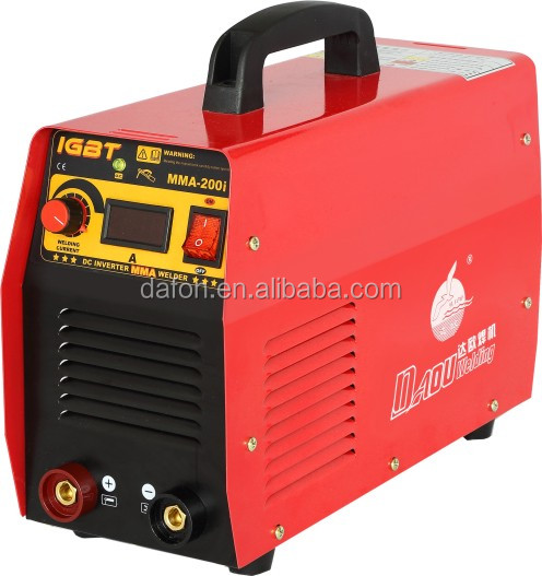 ZX7 IGBT digital set series including box mask brush portable single plate circult board inverter welding machine