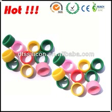 Factory wholesale custom silicone finger band/silicone finger ring/silicone thumb ring