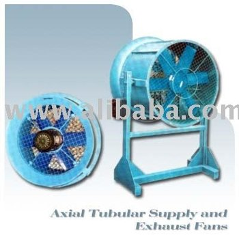 Axial Tubular Supply and Exhaust Fans