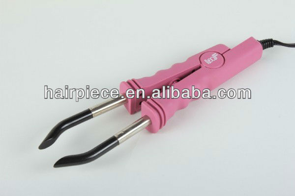 loof professional hair extension melting heating iron