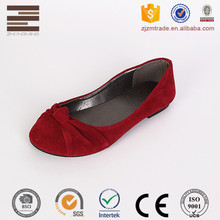 Fashionable Design Red Suede Upper Women Shoes