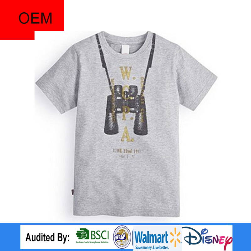 Custom Cheap High Quality Telescope Printing 100% Cotton clothes baby clothing in alibaba website