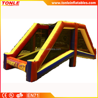 hot sale inflatable crunch time football game/ 2 player inflatable football game for rental