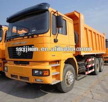 Used truck/ Shaanxi Shacman all wheel drive dump truck price 6x6 / Euro 4