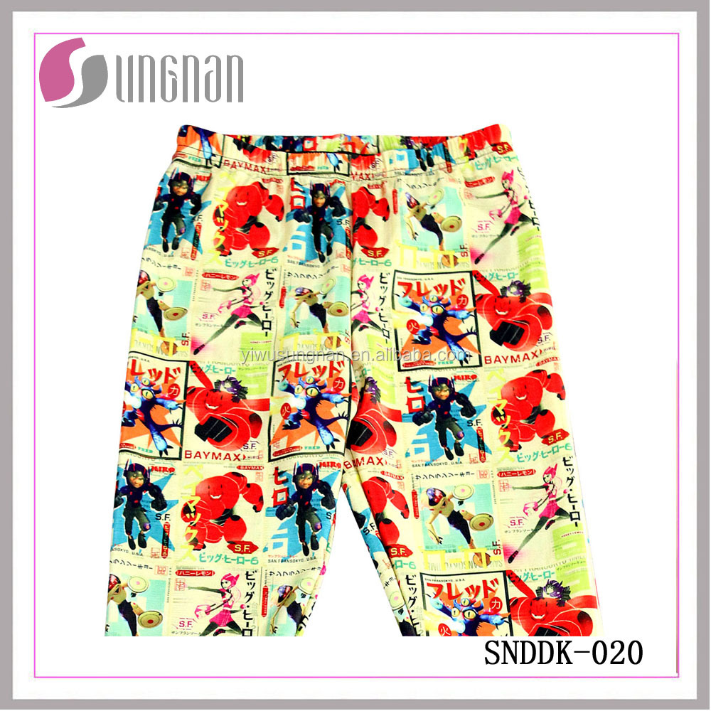SUNGNAN Fashion printing bright colorful women tight leggings