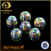 fine jewelry accessaries synthetic opal stones for jewelry mounting cabochon fire opal beads