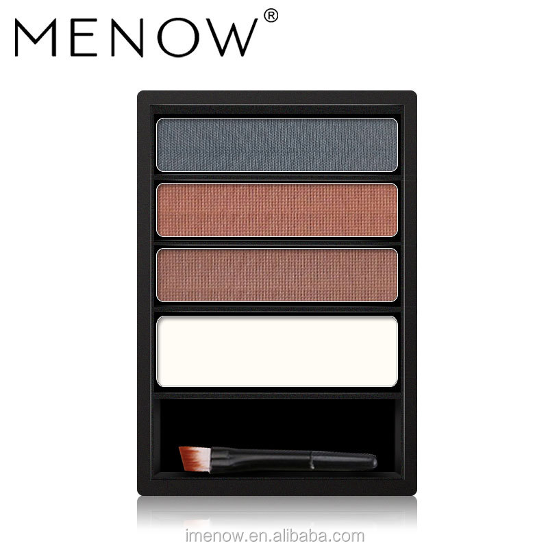 Menow E16001 Cosmetic 3 Colors Waterproof Natural Eyebrow Powder