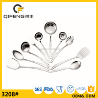 18/0 or 18/8 stainless steel kitchen tool set