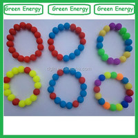 Food grade beads colorful small silicone rubber bands