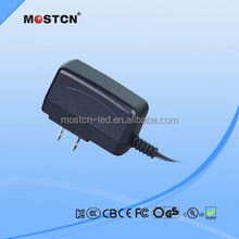 5V 1A ac dc adapter 220v to 12v power adapter with CE/UL/FCC/ROHS/KC/etc.