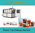 disposable PP PS cup making machine/disposable snack and plastic cup extruder machinery