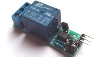 PC817 optocoupler isolation relay module