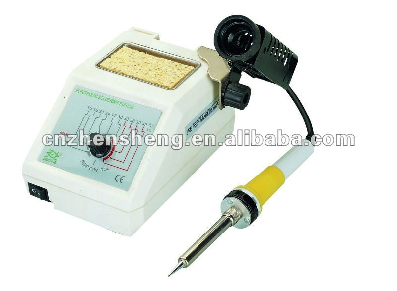 High precision temperature-controlled soldering iron station