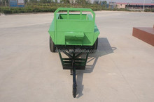 2016 hot sale!! 1ton small hand farm trailer for tractor with CE with best price