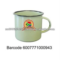 6CM South Africa Enamel Mug Cup