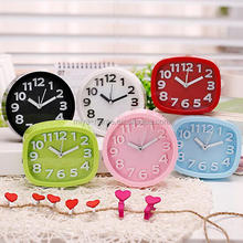 New arrival Candy lazy mute small alarm clock / desktop fashion desk bell student children bedside alarm clock