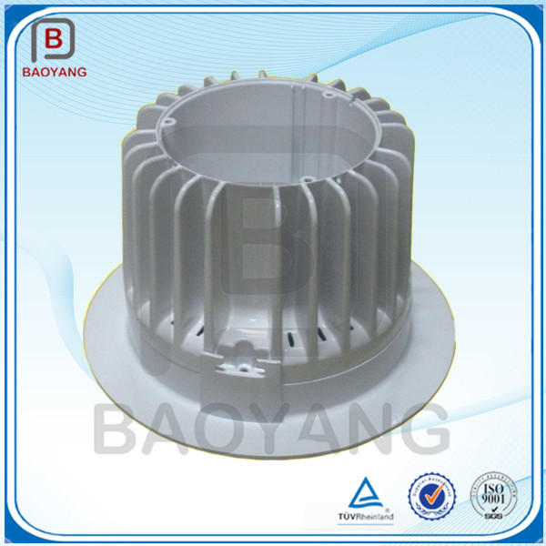 China OEM led aluminium die casting shell