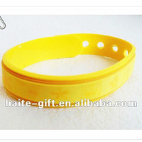 Promotion High Class Adjustable Silicone Wristbands