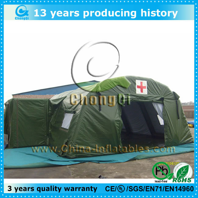 High quality inflatable army tent sale