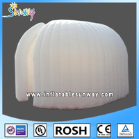 Sunway Outdoor Wedding Big inflatable Tent China Large Custom Inflatable Led Cube Tent Price for Party