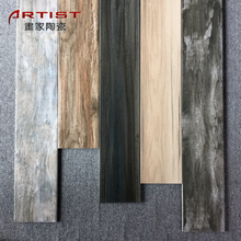 New Design Non Slip Rustic 3D Digital Wood Look Floor Tile Wood Ceramic Tile Floor Wood Grain Texture Tile